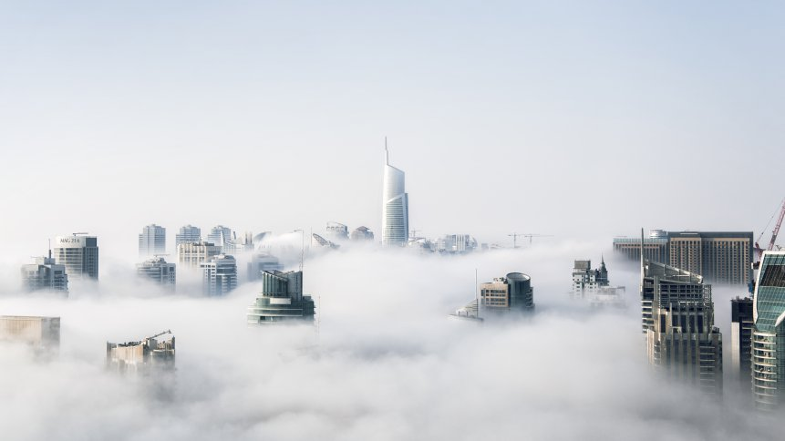 cloud buildings