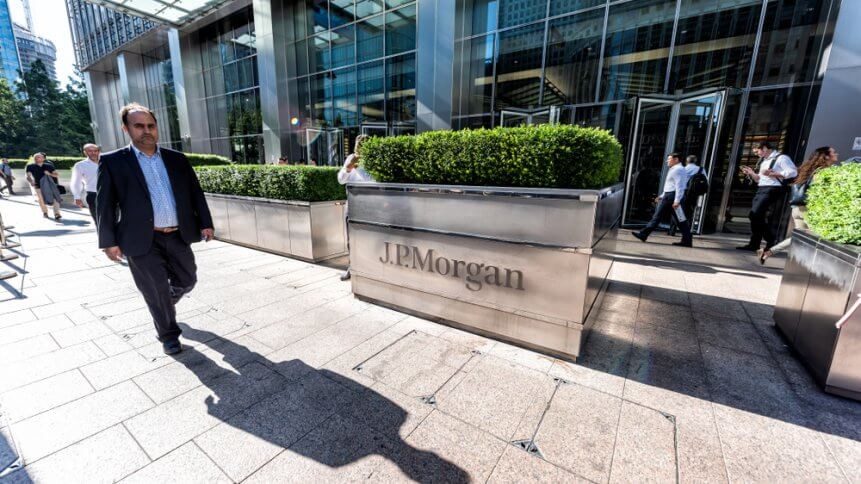 JPMorgan is doing interesting things with tech.