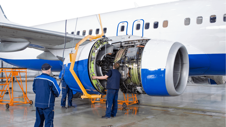 Digital twins are helping aircraft manufacturers with predictive maintenance.