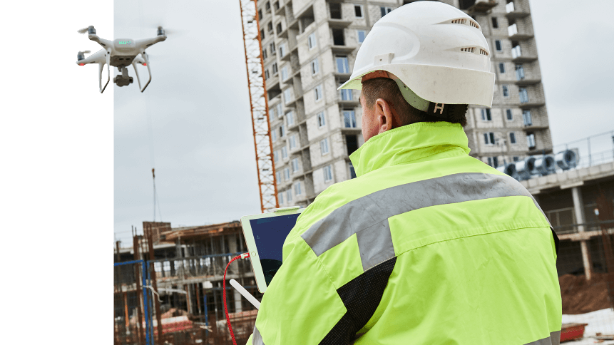 Drones are making big leaps in the world of construction.