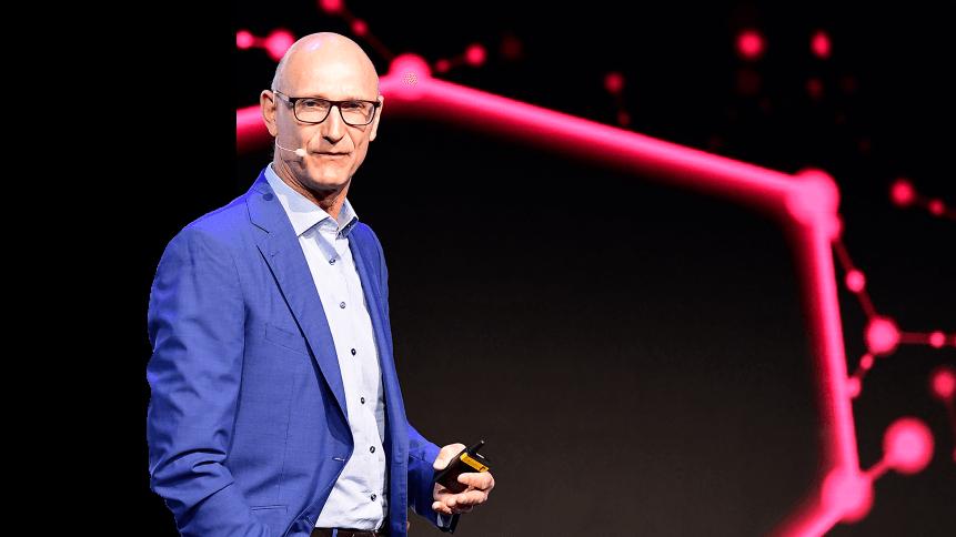 CEO of German telecommunications giant Deutsche Telekom Timotheus Hoettges