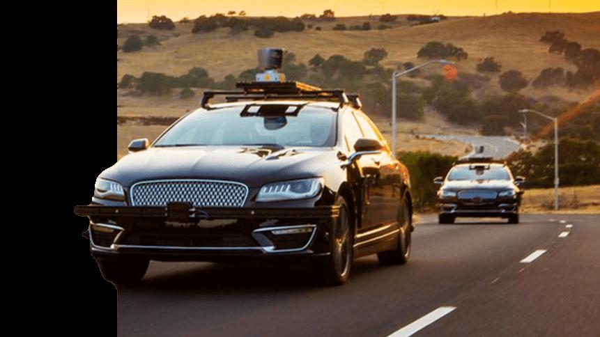 An Aurora self-driving car