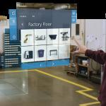 A concept of Microsoft Visualize mixed reality platform