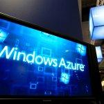 Windows Azure presentation at Microsoft stand during SMAU