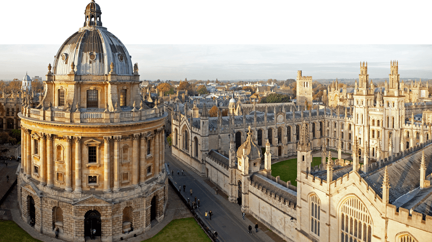 Radcliffe Camera and All Souls College, Oxford University