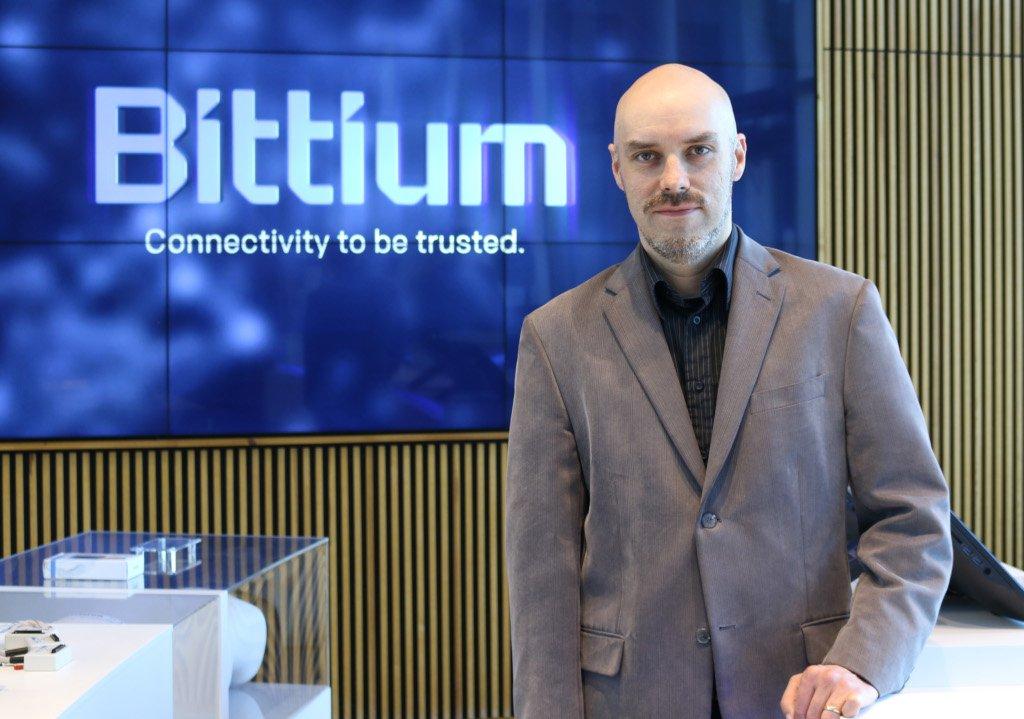 Blackphone (secure cellphone) manufacturer Bittium's Tero Savolainen