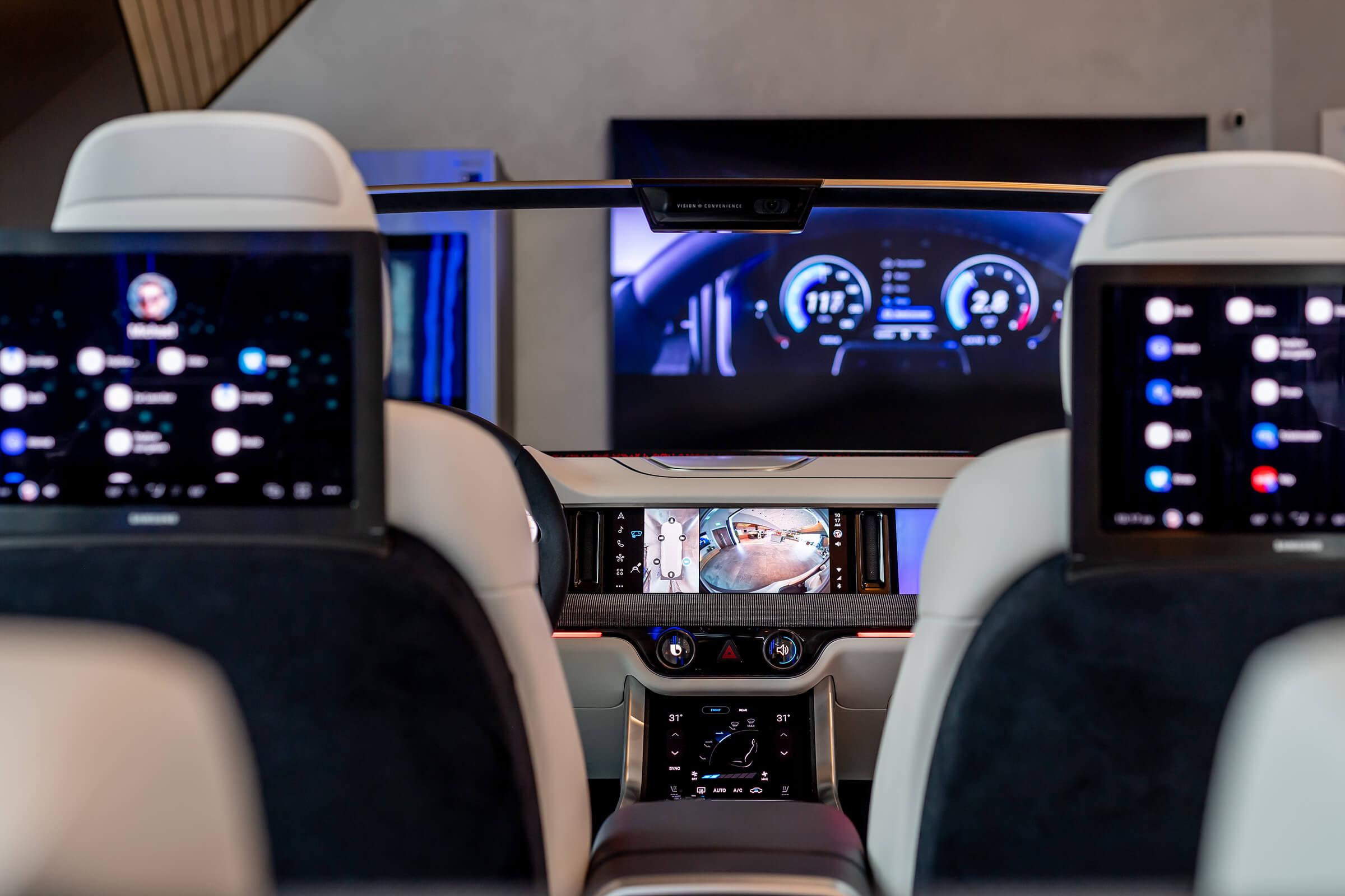 Digital cockpit and SamsungKX