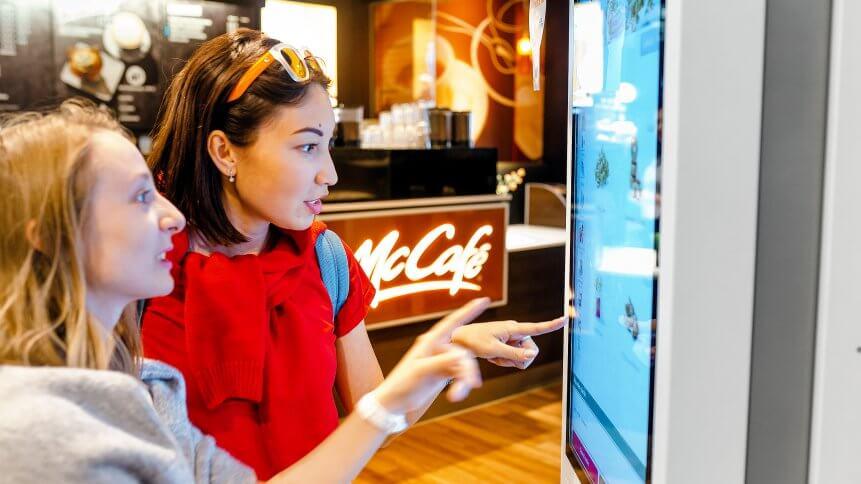self-sevice kiosk for better customer satisfaction