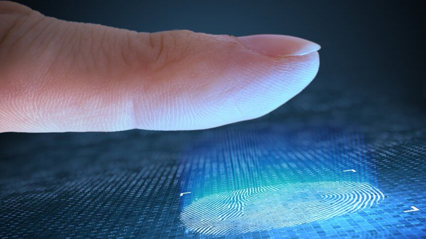 Biometric security protection