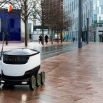 fast food delivery robot