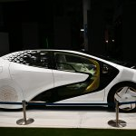 The Toyota LQ concept car is pictured at the Tokyo Motor Show