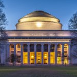 The famous Massachusetts Institute of Technology in Cambridge, MA, USA