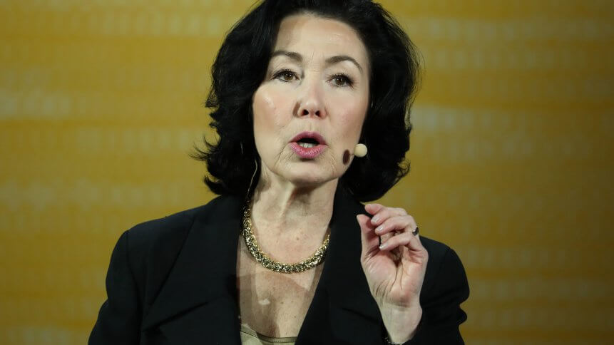 Oracle CEO Safra Catz, previously one of the United States' highest paid CFOs.