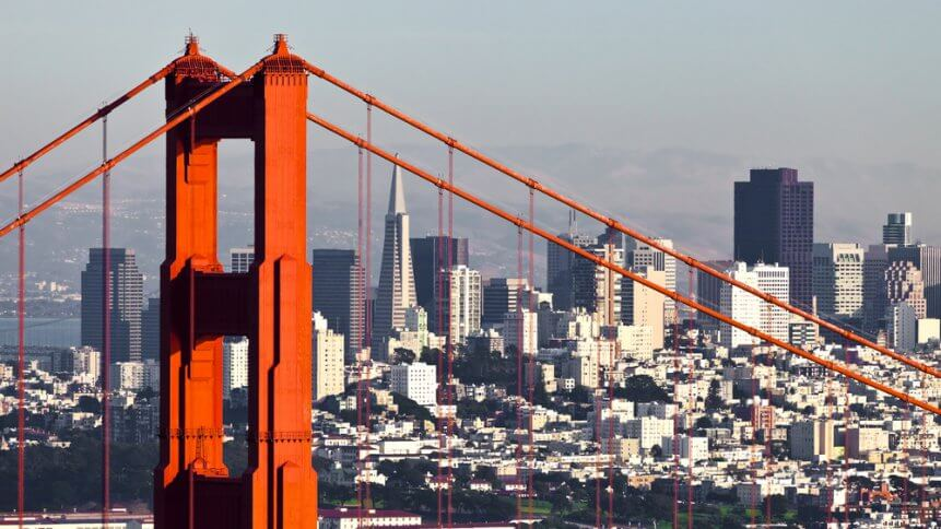 San Francisco is at the heart of the US tech scene.