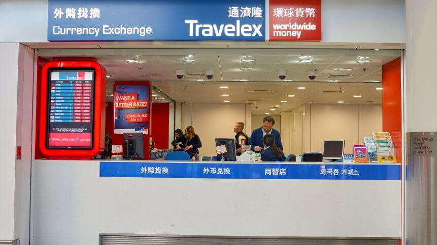 Travelex at Hong Kong International Airport